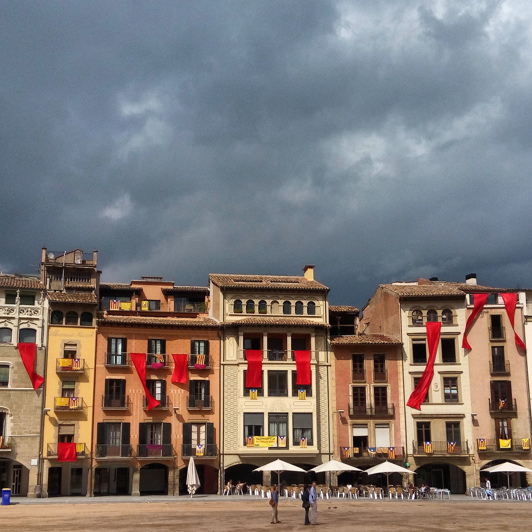 Plaça Mayor in Vic