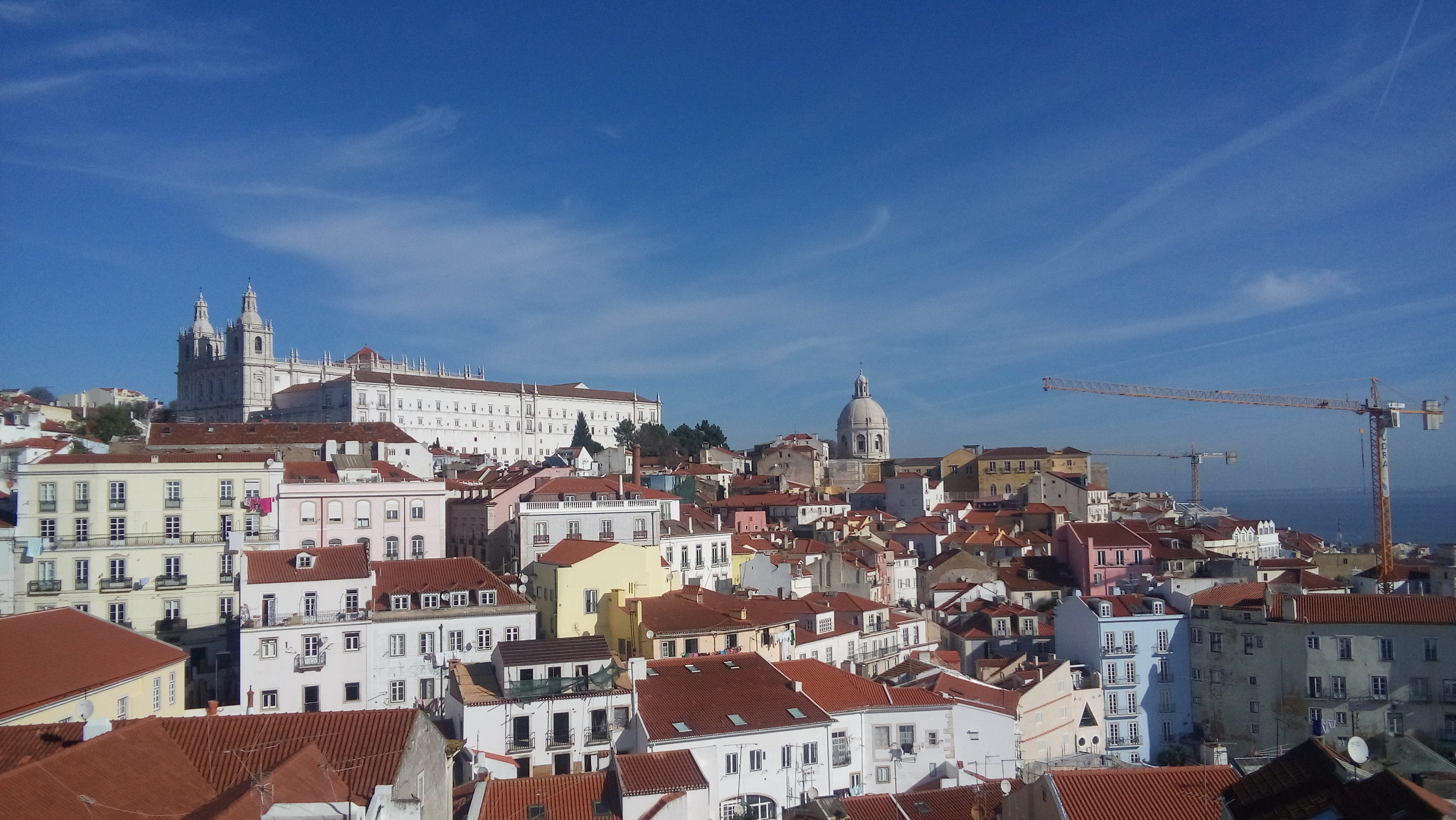 Lisbon and its roofs